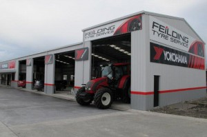 Feilding Tyre Service 's modern workshop
